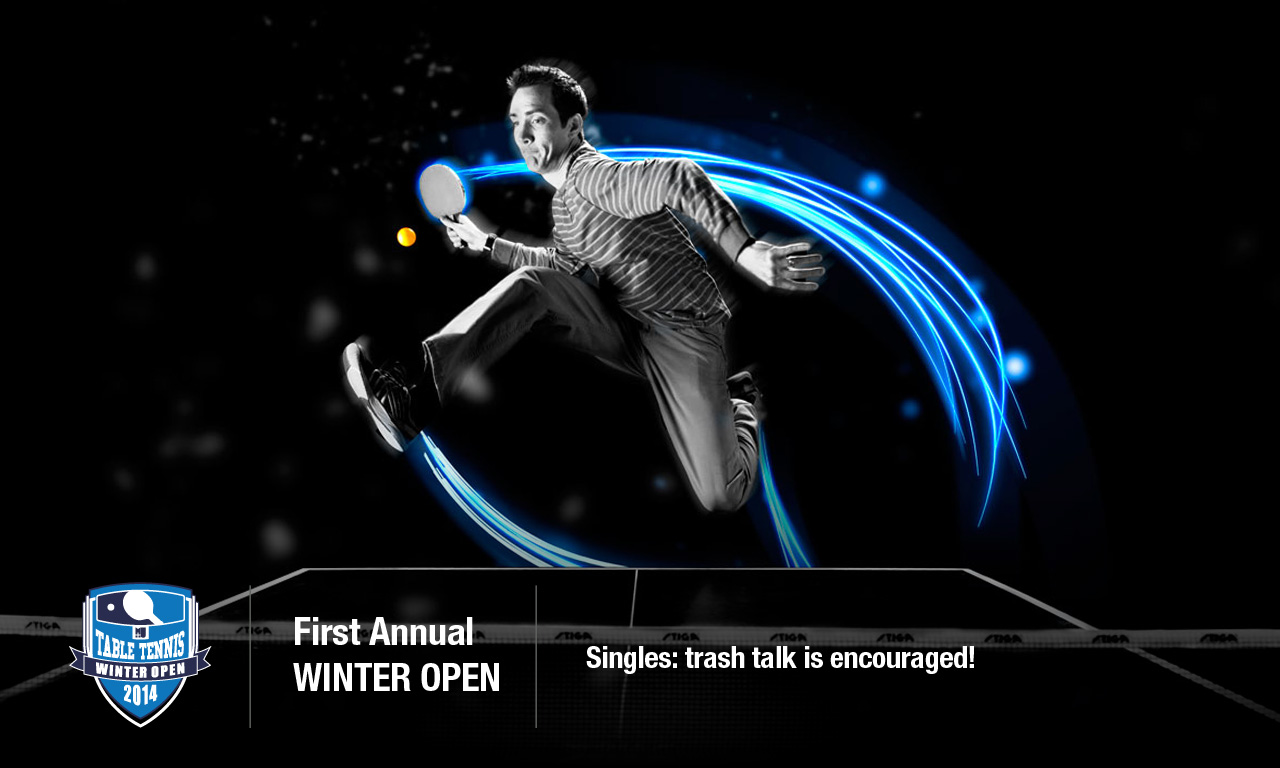 Table Tennis Winter Open Singles