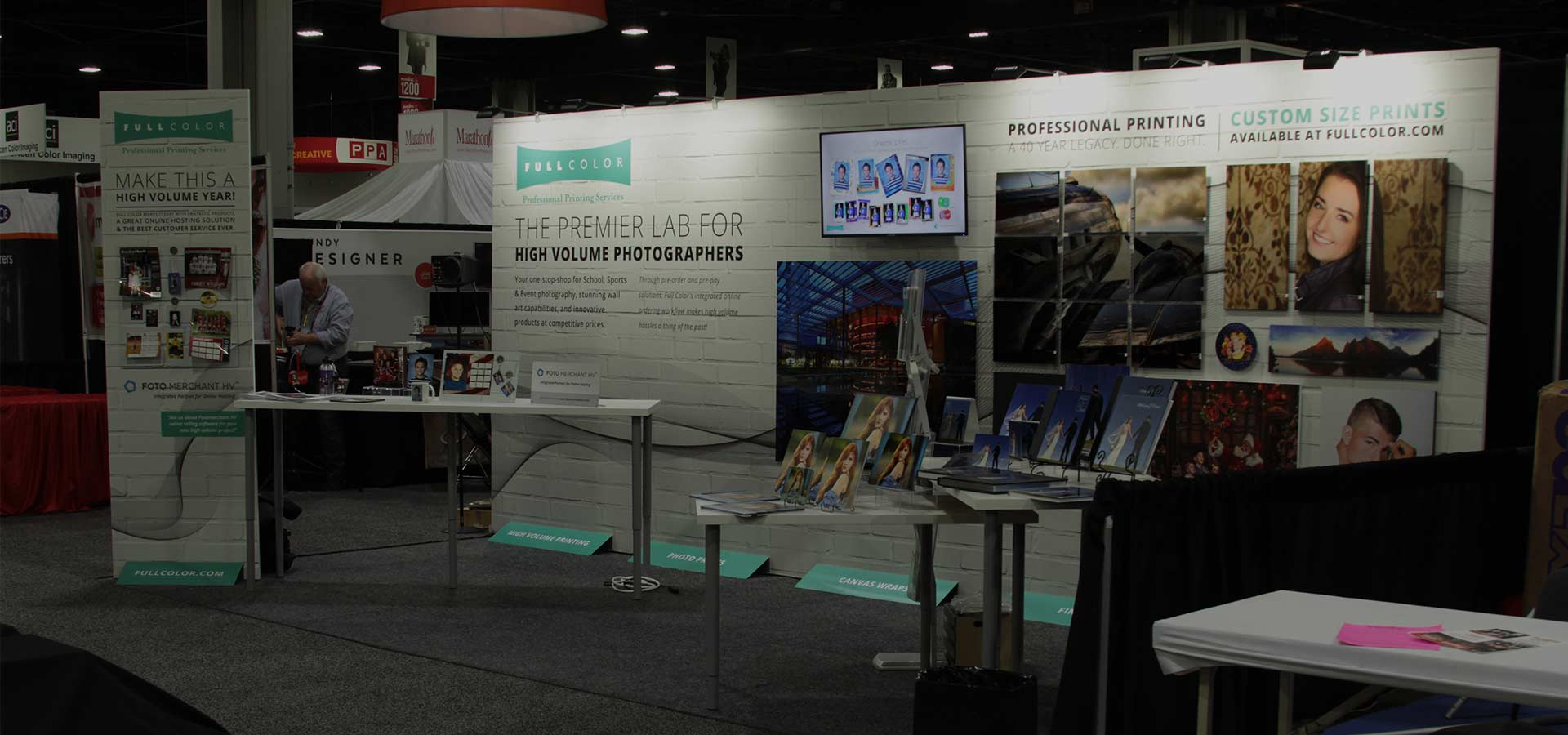 Full Color Trade Show Design