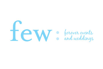 Forever Events and Weddings (FEW) Logo