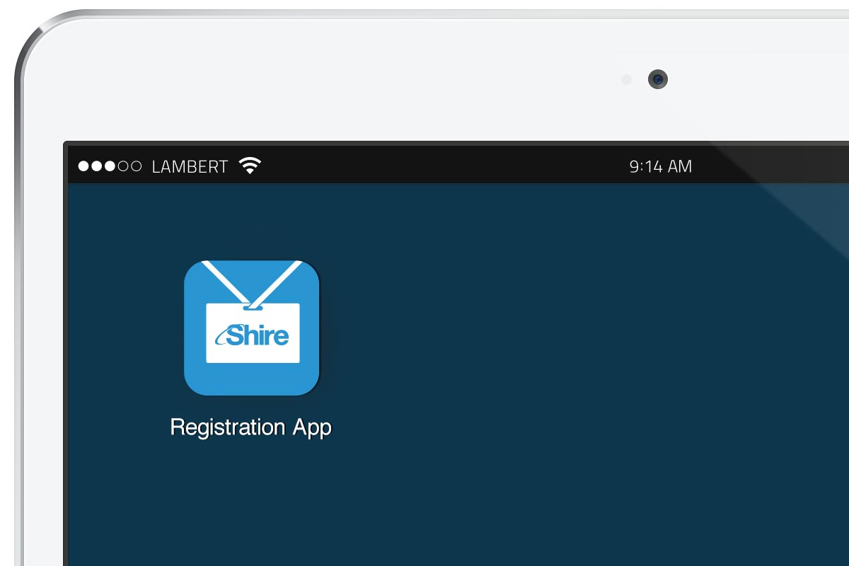 Shire Conference Home Screen App Icon